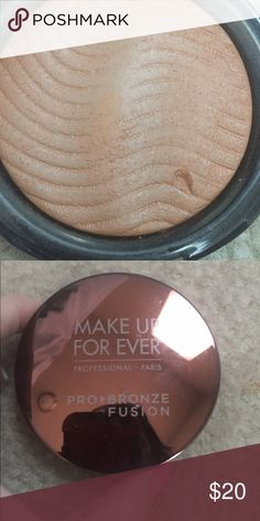 Mufe bronzer 35i Mufe bronzer no box has been swatched Makeup Forever Makeup Bronzer