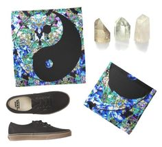 """""""Yin Yang Bandana's (I Just Sold A Few!)"""" by vanidclothing ❤ liked on Polyvore featuring Vans, yinyang, bandanas, zazzle, hairaccessories and vanidclothing"""