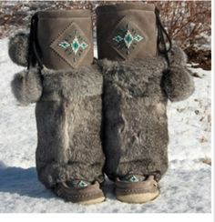 Genuine Canadian mukluks
