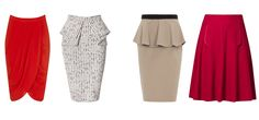 best skirts for an hourglass body shape