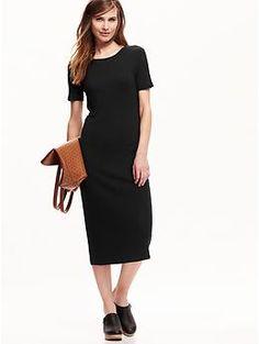 Jersey Midi Dress | Old Navy