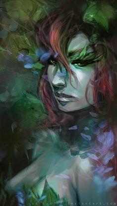Poison Ivy by *aditya777 on deviantART