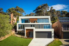 The Tathra Residence designed by Dream Design Build, a terraced up the hill home that maximises the magnificent ocean views - CAANdesign http://www.caandesign.com/tathra-residence-designed-dream-design-build-terraced-hill-home-maximises-magnificent-ocean-views/?utm_content=buffer7a948&utm_medium=social&utm_source=plus.google.com&utm_campaign=buffer