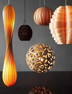 A beautifl assortment of lights #lighting #statement #interiordesign