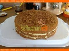 Walnut cake from Brno - Orechová torta z Brna - Sefkuchari. Eastern European Recipes, Walnut Cake, Sweet Desserts, Food Dishes, Baking, Breakfast, Hana, Gardening, Cakes