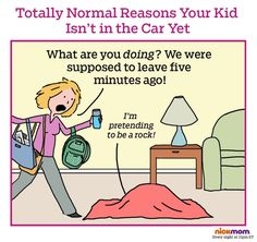 Reason #184,238 You Never Leave on Time | More LOLs & Funny Stuff for Moms | NickMom
