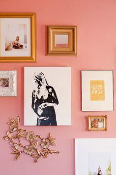 Love gallery wall inspo