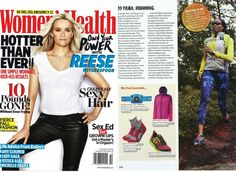 This just in! Check out the #October Issue of @WomensHealthMag for our article on Trail Running! Read my tips on form and how to find the right park, trail and adventure! Perfect for those venturing out to National Parks @goparks or trails just down the block. #FitnessActivist #FYPx #FindYourTrail #womenshealthmag #FindYourPark #EncuentraTuParque #REI1440Project #MHRC @GoParks @REI
