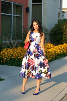 Gumboot Glam - Vancouver Based Style and Beauty Blog by Ally Soeker : Watercolor Floral