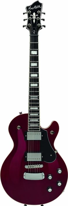 Hagstrom Northern Series NSWE-WCT Electric Guitar, Wild Cherry Trans Hagstrom jsmartmusic.com