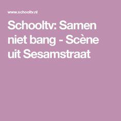 Schooltv: Samen niet bang - Scène uit Sesamstraat