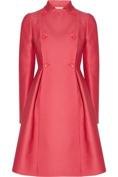 Valentino Wool and silk-radzimir coat