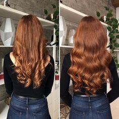 Pelo Color Cobre, Pelo Color Vino, Bright Red Hair, Red Hair Color, Color Red, Curly Hair Styles, Natural Hair Styles, Luxy Hair Extensions, Natural Red Hair