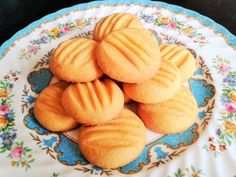 Baking melting moments custard powder cookies biscuits recipe