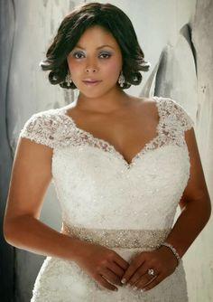 Princesas de Cristo: Vestidos de noiva - Plus size!