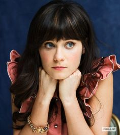 Zooey Deschanel - She Modernized 'bangs' and made them an in trend