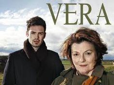 Vera...wonderful Brit character actress Brenda Blethyn plays demon driven detective, Detective Inspector Vera Stanhope with hulky partner Joe.