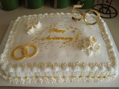 50th Wedding Anniversary Cake Photo:  This Photo was uploaded by daveandvalerienelson. Find other 50th Wedding Anniversary Cake pictures and photos or up...
