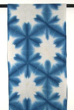 SHIBORI - Yukiwa (snowflake) pattern