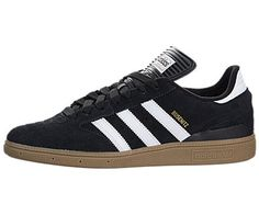 Adidas Men's Busenitz Black/Runwht/Metgol Skate Shoe 10.5 Men US: Vulcanized construction for comfort and durability Busenitz tongue is…