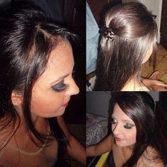 Make e penteado para formatura