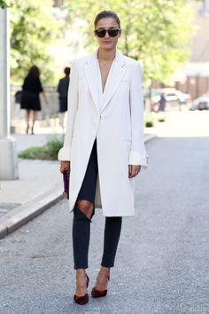 Parisienne: 23 WAYS TO WEAR WHITE THIS WINTER