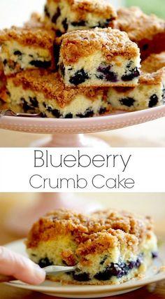 Great coffee cake recipe for brunch! Includes video tutorial. #Brunch #coffeecake #cake