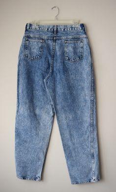 des années 80 / 90 s conique taille haute Jeans par RetroOnTheRocks                                                                                                                                                                                 Plus