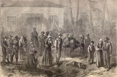 Civil War Refugees- possibly from Battle of Cedar Creek, Oct 1864
