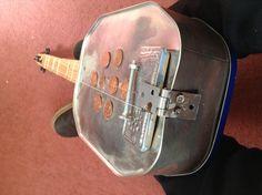 Biscuit tin guitar