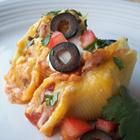Tacos in Pasta Shells -My baby girl loved this...yummy!