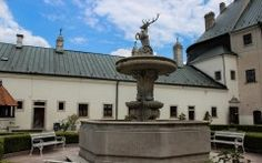 Explore Cultural heritage of Slovakia. Visit about 80 technical sights, castles, chateaux and churches. See military artefacts and archeological sites. Archaeological Site, Fountain, Castle, Culture, Explore, Outdoor Decor, Water Fountains, Castles, Exploring