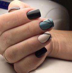 Autumn nail shellac, Everyday nails, Fall nails 2016, Fashion autumn nails…