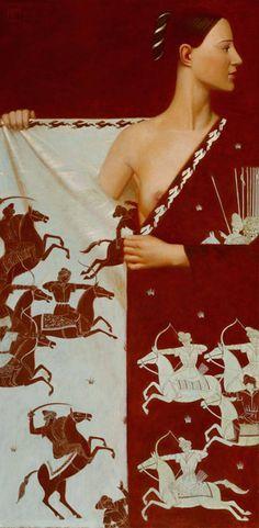 Medieval Style Paintings by Andrej Remnev – Fubiz Media