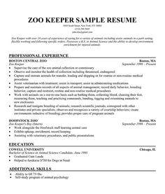 College Veterinary Medicine  Cornell University Sample Resumes