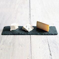Pretty slate cheese board