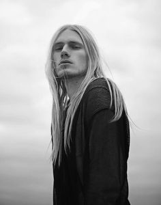 Long Haired Nordic Men- I have one of my very own. ;D