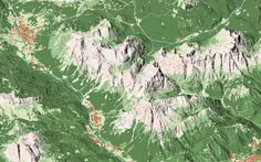 First tests for a new project: the panoramic map of #Dolomites. San Vito di Cadore - Cortina - Sorapiss - Antelao - Marmarole
