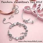 Pandora Valentine 2015 collection in store now  at Havilah Designer Jewellers.