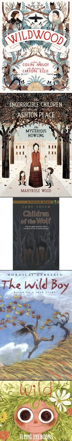 5 Wild Children for Your Wild Child to Read About