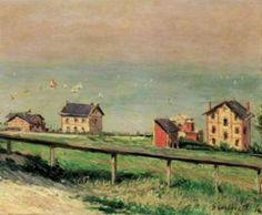 Gustave CAILLEBOTTE Régate en mer à Villerville #Normandie #Villerville #Côte-Fleurie