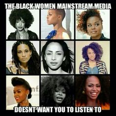 MARSHA I LOVE HER. AND JANELLE AND LAURYN AND ERYKAH. Revolutionary women. All of them.