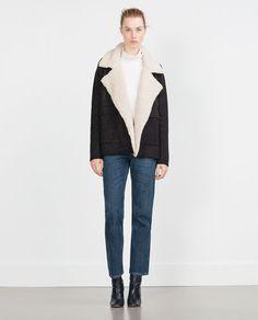 Image 1 of SHORT JACKET from Zara