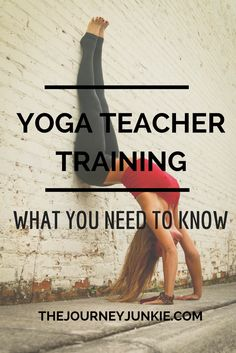 Interested in becoming a yoga teacher? Read this first.