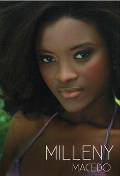 Milleny Macedo is a model from Rio de Janeiro.