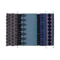 GAN - Glaoui Tumbuctú - Tapis - violet/bleu/noir/Taille 1/170x240cm