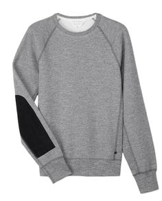 Comfy but punchy. who cares if it's mens. Suede Patch Sweatshirt | rag & bone Official Store