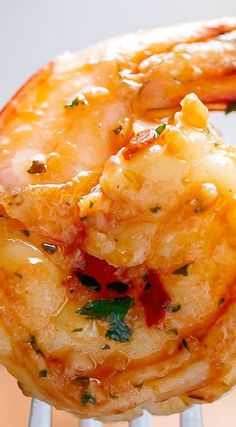 Spicy Garlic Sun Dried Tomato Shrimp