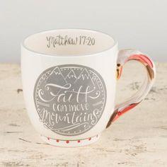 Faith Can Move Mug
