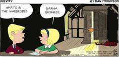 "narnia business wardrobe joke | What's in the wardrobe?"" ""Narnia business."" via Grammarly 
